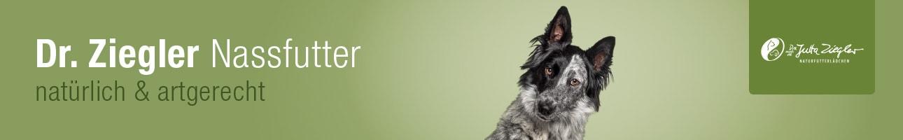 Hundefutter-Dr. Jutta Ziegler - Nassfutter für Hunde