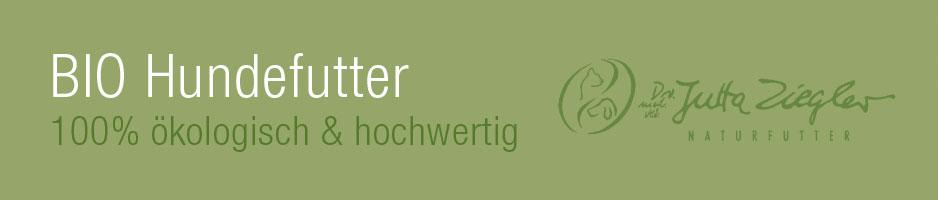 Hundefutter-Dr. Jutta Ziegler - Dosenfutter für Hunde - 100% BIO PUR