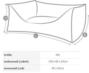niggeloh hundegeschirr niggeloh follow 3 schwarz xl. Black Bedroom Furniture Sets. Home Design Ideas